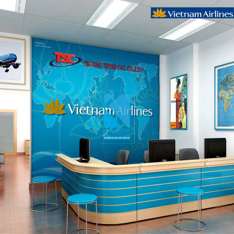 Phòng giao dịch Việt Nam Airlines